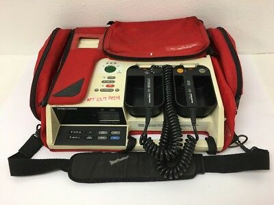 Physio Control Lifepak 10 Defibrillator Battery Support System With Extras