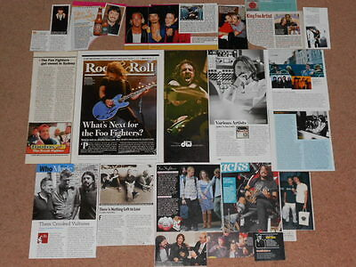 20+ DAVE GROHL / FOO FIGHTERS Magazine Clippings
