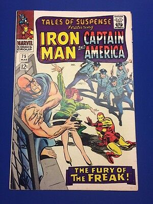 Tales of Suspense 75 - Iron Man -1st Appearance of Sharon Carter, Batroc 1966