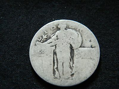 Dateless Standing Liberty Silver Quarter --Inv95