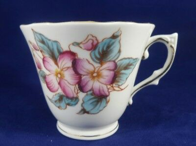 Vintage Colclough Blue Flowers 6630 Orphan Teacup England