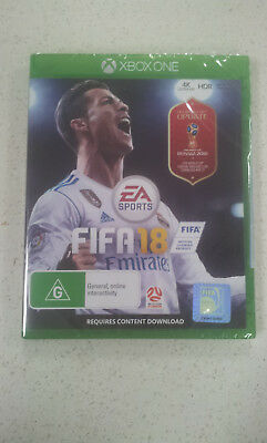 FIFA 18 Microsoft Xbox one Brand New and Sealed