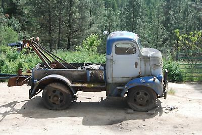 1940 Dodge COE cabover rare patina suit Ford F100 F1 chevy hotrod ute builder