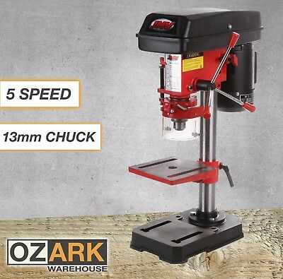 New Industrial Bench Drill Press Bench Table Top Mounted 5 Speed 350watt 13mm