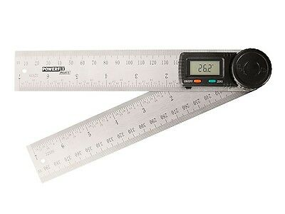 360 Degree Digital Angle Rule Ruler Finder Protractor 2-in-1