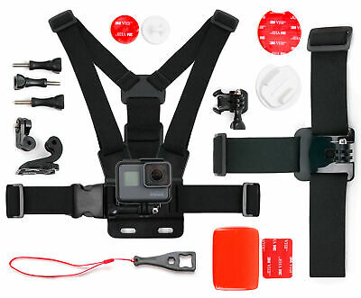 Action Camera Bundle - Compatible with GoPro Fusion Action Camera