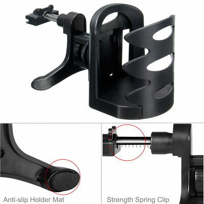 INSMA Universal In Car Drinking Cup Bottle Can Air Vent Mount Adjustable Holder