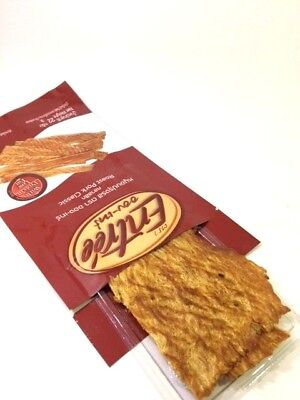 """ROAST PORK CLASSIC SNACK THAI WITH  PROTEIN LOW FAT HEALTHY """"ENTRE'E BRAND"""" 22 g"""
