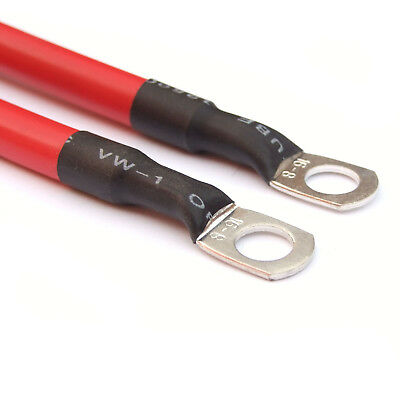 """915 mm (36"""" ) RED 110 Amp Car Battery Power Cable Starting Motor Lead"""