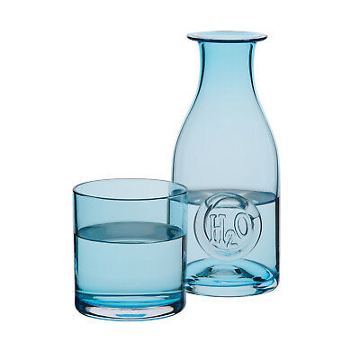 Dartington Crystal - H2O Collection Glass Carafe and Up Glass in Gift Box