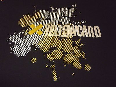 Yellowcard Tour Shirt ( Used Size L ) Very Good Condition!!!