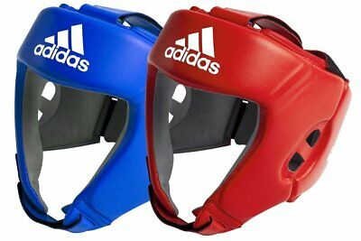 NEW Adidas Boxing Head Gear - Open Face AIBA approved boxing headguard headgear
