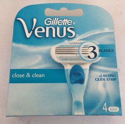 Gillette Venus Blades Pack Of 4 (U.K. Seller)