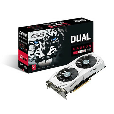 ASUS AMD RX480 dual 4Gb graphics card