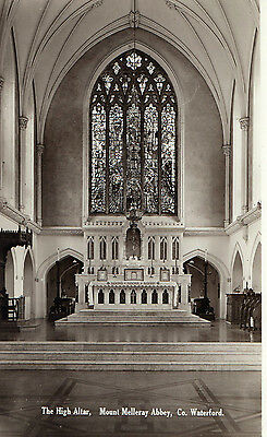The High Altar Mount Melleray Abbey Co. Waterford Ireland Rp Valentines Postcard