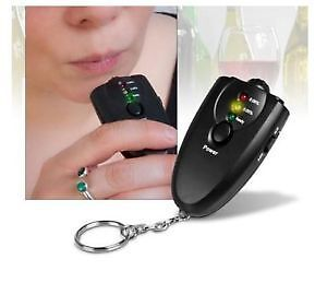 Digital LCD Police Breath Alcohol Detector Analyzer Tester Breathalyzer Test UK