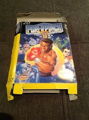 Power Punch II Nes Box Only (RARE)