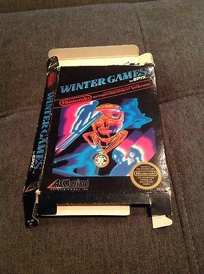 Winter Games Nes Box Only