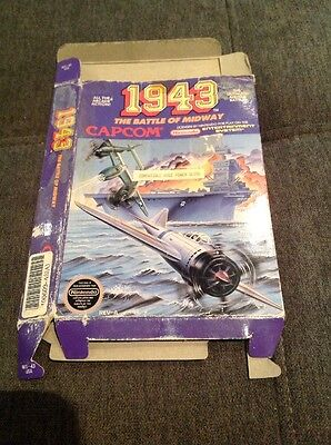 1943 The Battle For Midway Nes Box Only