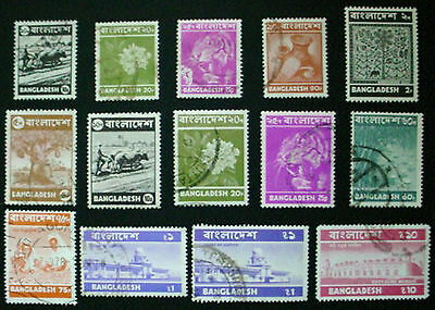 Bangladesh: Collection Of 14 Used Stamps: Lot 2