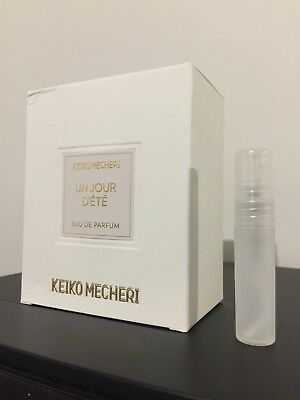 Keiko Mecheri Un Jour D'ete Edp 5ml Sample/perfume/fragrance/100% Genuine