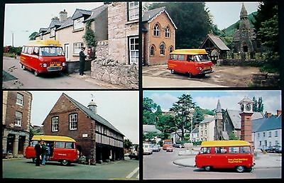 1979 Collection Of 6 Used Royal Mail Postbus Postcards: Used In Mint Condition