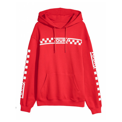 stadium tour Justin Bieber  new merch! purpose tour red hoodie