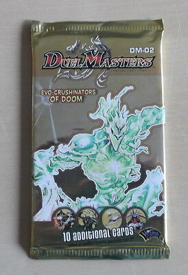 Duel Masters 1 Boosterpack   DM-02  Englisch Edition