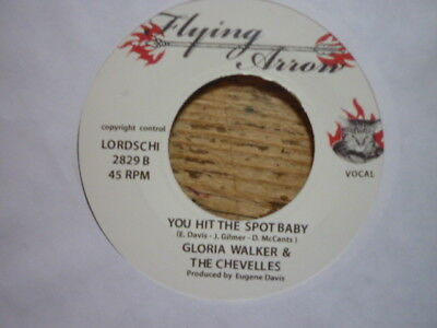 northern soul angela davis my love is so strong/gloriawalker you hit f/a reissue