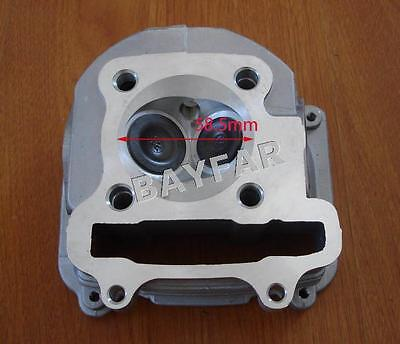 4 stroke Scooter Moped ATV 157QMJ GY6 150 58.5mm NON-EGR Cylinder Head Assembly