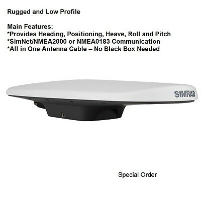 Simrad HS70 GPS Compass Non-Magnetic Heading Source:  Superior Navigation