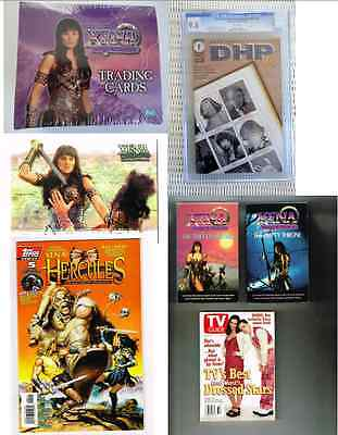 Xena Warrior Princess Lot-Series 1 Trading Card Sealed Box Books Card Cgc Comic