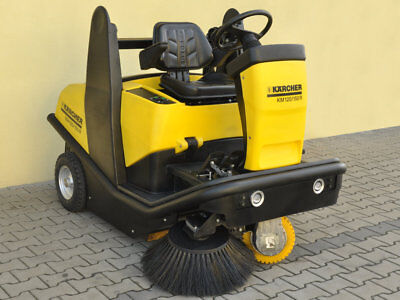 Kärcher KM 120/150 R Bp  SWEEPER  /  WARRANTY / PERFECT CONDITION 6300£ 0% TAX