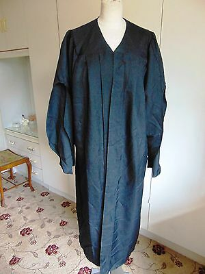 Black polyester University Graduation Schoolmaster Graduation Attire Medium