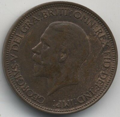 1935 George V Halfpenny***Collectors***