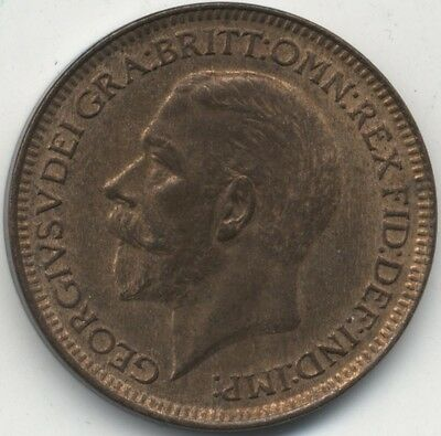 1929 George V Farthing***Collectors***High Grade***(5)