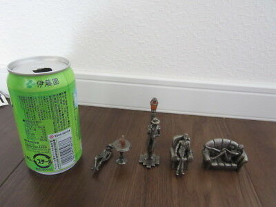 USED JUNK Lupin the 3rd Metal figure 4pcs free shipping from Japan