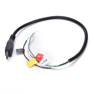 USB To AV Out Cable Wire For SJ4000 Sport Action Camera For FPV Video Audio ^