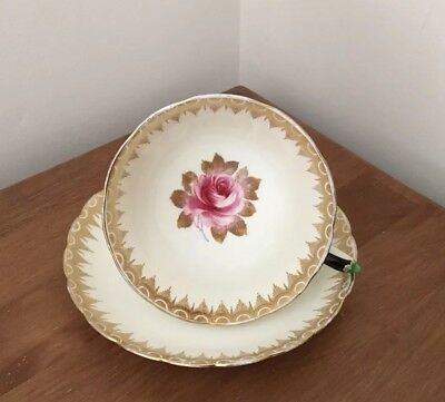 Tuscan Bone China Flowers Cup & Saucer