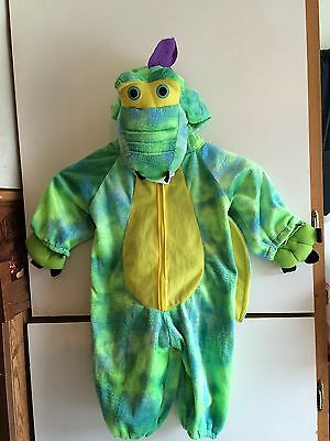 Toddler Halloween Costume Dragon Green