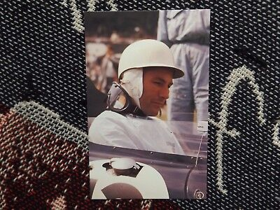 Motorsport Postcard - Stirling Moss - Grand Prix Driver (2)