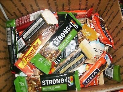 80 Assorted Health / Energy Bars No Reserve Low Shipping Lqqk ~~ Low Shipping