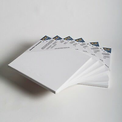 "6 B.K. PLUS PREMIUM STRETCHED CANVASES | ~ 16""x16"", 100% cotton 