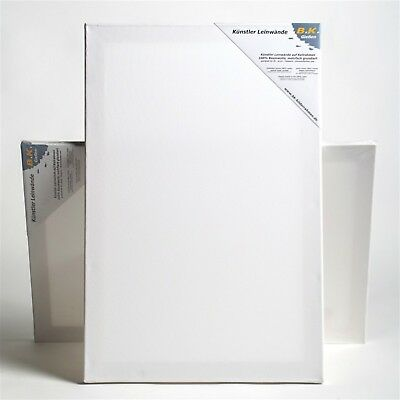 "2 B.K. PLUS PREMIUM STRETCHED CANVASES | ~ 28""x40"", 100% cotton 