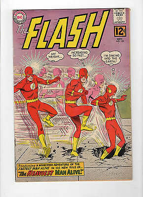 The Flash #132 (Nov 1962, DC) - Fine/Very Fine