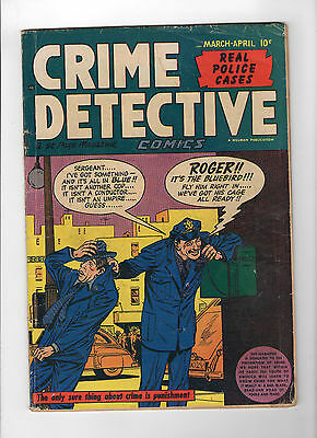 Crime Detective Comics #Vol. 2#1 (Mar-Apr 1950, Hillman) - Good