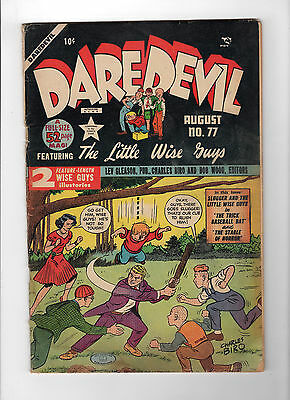 Daredevil Comics #77 (Aug 1951, Lev Gleason) - Good-