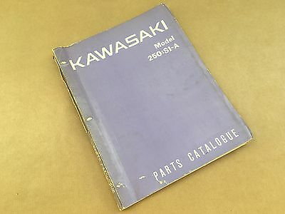 Genuine Kawasaki 250:S1A Part Catalogue