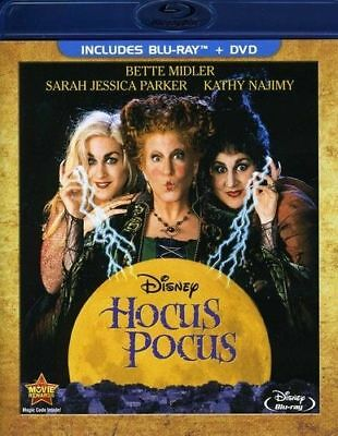 Blu Ray HOCUS POCUS. Bette Midler. UK compatible. New sealed.