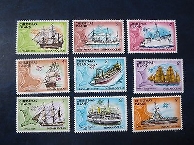 "Australia Territory ""christmas Island"" 1972-3 Mint Lot  Stamps"